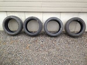 4 225/45/18 Goodyear Tires