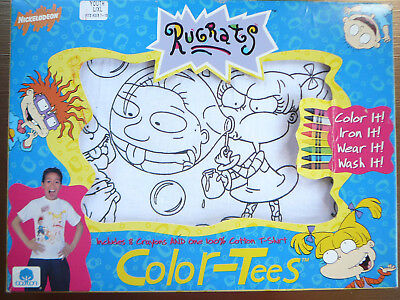 Rugrats Color-Tees Make Your Own T-Shirt Nickelodeon Size L/XL FREE SHIPPING - Make Your Own T Shirts