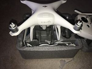 DJI phantom 4 like new.