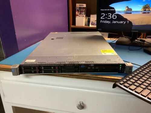 HPE ProLiant DL360 Gen9 G9 Dual  CPU E5-2620v3 2.40GHz 96GB Server - 12 Core