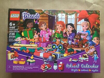 New LEGO 41420 Friends, Friends Advent Calendar New Sealed! 236pcs 6+