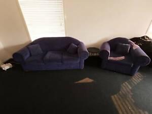 3 Seater & 1 Seater Lounge Set
