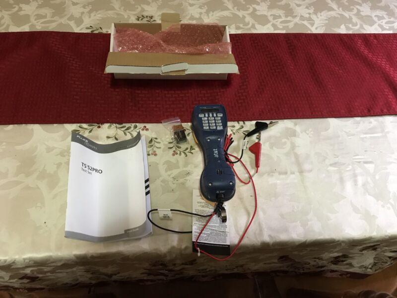 Fluke network ts52 pro test set, telephone test set