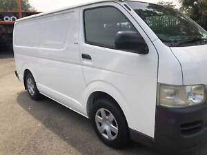 Toyota Hiace 2006 Turbo Diesel Smithfield Playford Area Preview