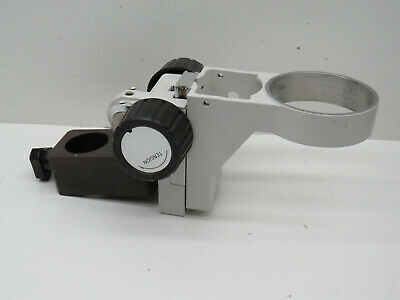 Nikon Stereo Microscope Head Holder Arm Adjustable Height