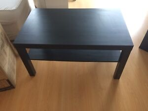 Black coffee table perfect condition