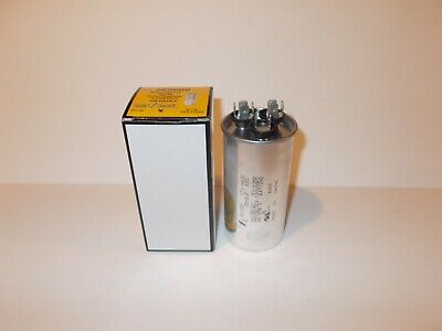 8 AEROVOX CAPACITOR 15+10 MFD X 370 VOLT OVAL AC DUAL RATED
