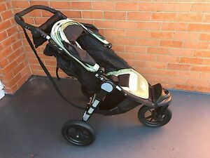 Baby Jogger City Elite 3 wheel Pram with Bassinet and Rain Cover Riverside West Tamar Preview