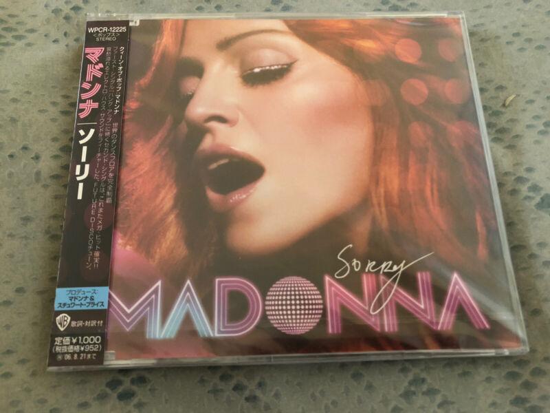 Madonna Sorry Jpn Cd Single Confessions On A Dancefloor New & Sealed