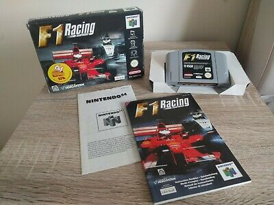 F1 Racing Championship - N64 Nintendo 64 - Complete with Manual Notice Anleitung