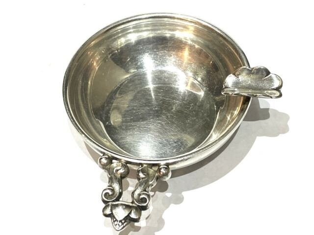 STERLING  Silver  CIGAR ASHTRAY  with ACORN Handle  Georg Jensen question
