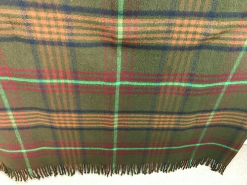 "Large Antique Chase All Wool Sleigh Lap Blanket, Large  80"" x 60"""