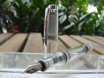 TWSBI DIAMOND VAC MINI demonstrator Fountain Pen  〝SEALED〞M nib