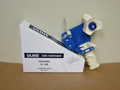 Uline Industrial 2 Side Load Hand Held H-150 Tape Dispenser Shipping Receiving