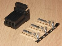 1 Harley 6X BLACK OEM Amp//Tyco Multi-lock .070 MALE connector
