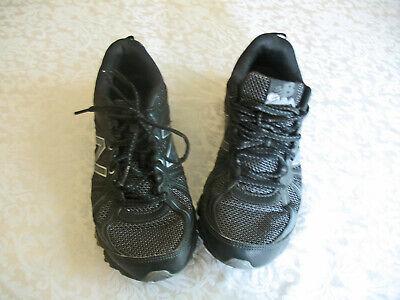 NEW BALANCE 412 Mens Size 8 D Black & Gray Sneakers Shoes MTE412B2