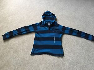 Old Navy youth medium (age 9-13 yrs.) striped hoodie