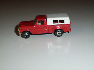 MATCHBOX SUPERFAST # 6 FORD PICK-UP RED W/ CHROME GRILLE EXELLENT CONDITION