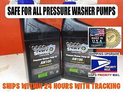 32 Oz Universal Pressure Washer Pump Oil Aw100 - Cat General Comet Annovi