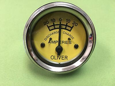 Oliver Tractor Ammeter Amp Gauge Ha7353 66 77 88 99 Super 55 66 77 88 99 440 660