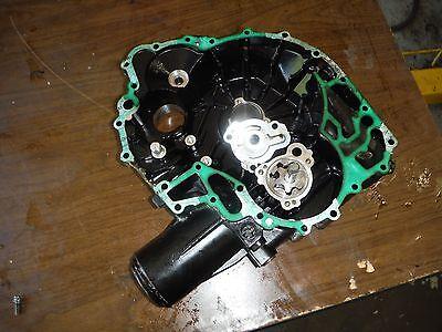 04 SEADOO SEA DOO RXP 215 SUPERCHARGED REAR ENGINE PTO COVER OIL PUMP BIN 04-4