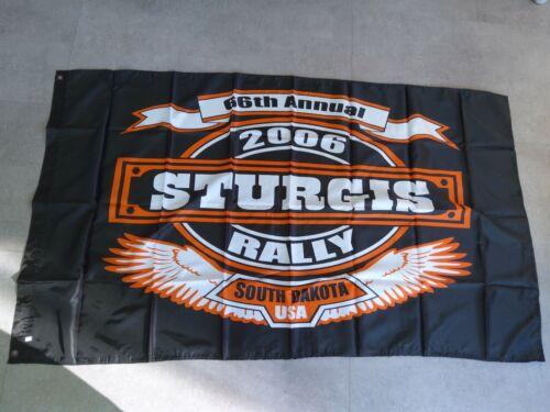 Sturgis Rally 2006,Biker,Original USA,South Dakota,Flagge,Flag,kein Harley