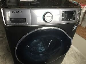 6.5 cu ft front load washer. 1.5 years old
