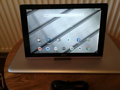 """ACER Iconia One B3 A50 Full HD 10.1"""" Tablet 16gb Android 8.1 gold. Grade B"""
