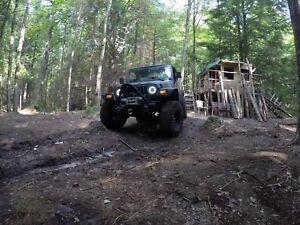 Jeep Wrangler 2002 4L manuel