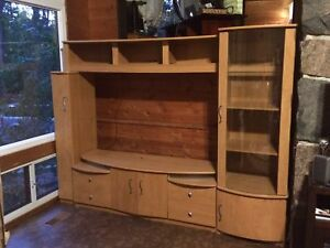 Entertainment unit - Excellent condition - BEST OFFER