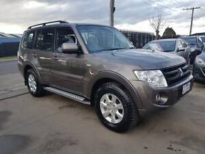 2013 Mitsubishi Pajero SUV GLX-R AUTO TURBO DIESEL Williamstown North Hobsons Bay Area Preview