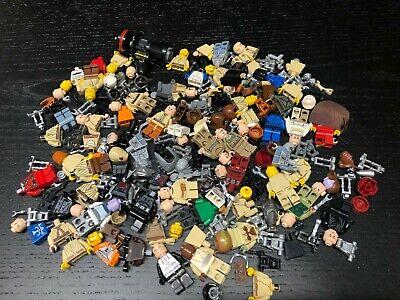 LEGO Star Wars Minifig Parts 8 ounces as shown 1/2 Pound Droids Jedi lot H553
