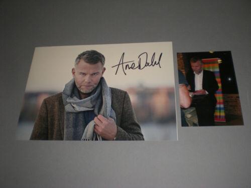 Arne Dahl  crime author signed autograph Autogramm 8x11 photo in person