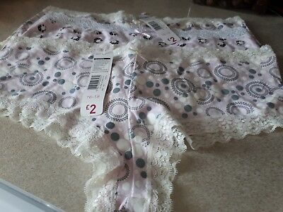 Ladies knickers 16/18 ( new with tags)