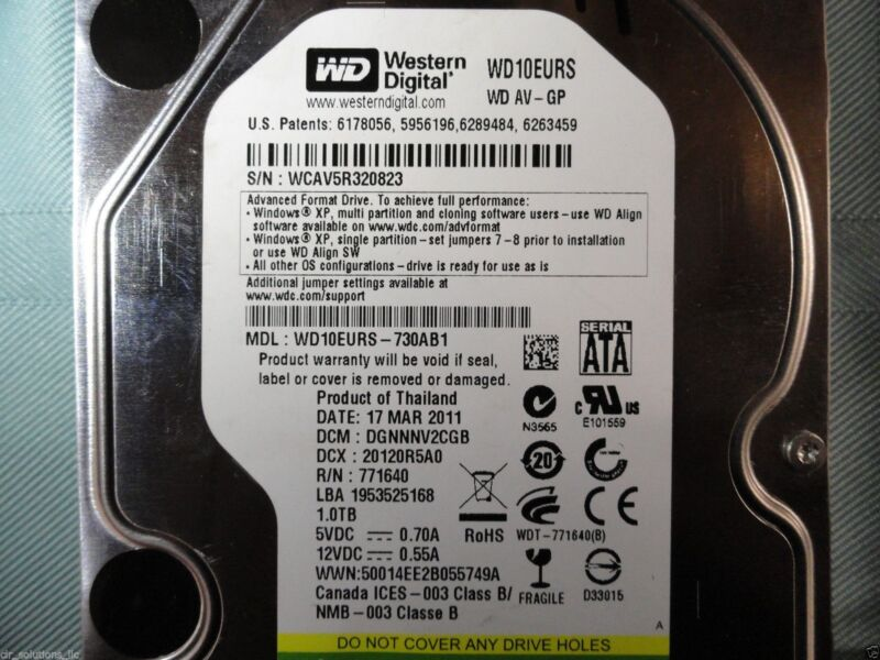 TiVo Premiere TCD746320 1 TB Replacement Upgrade Drive, 145+ HD hours, 1325 SD
