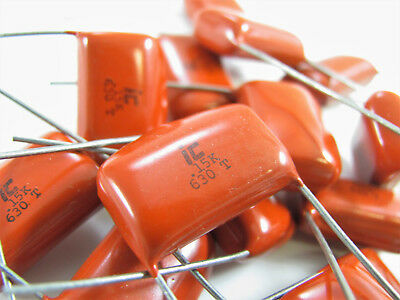 0.033uf To 0.22uf 630v - Polyester Metallized Film - Illinois Capacitor Nos
