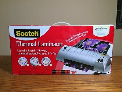 Scotch Tl901c Thermal Laminator 2 Roller System