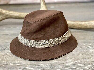 Puma Fedora Brown Size L/XL Hat Cap