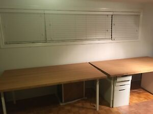 Two Bamboo counter, table or desk tops