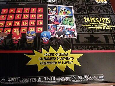 Funko Pop Christmas Advent Calendar Marvel 80th Anniversary 24 Pcs Countdown NIP