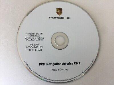PORSCHE 911 CAYENNE PMC NAVIGATION AMERICA CD4 COVERS MS TN KY AL GA SC 08.2007