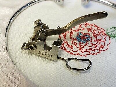 Vintage Singer Darning Embroidery Attachment Simanco 80251 fit Featherweight 221