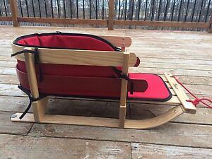 Canadian Made Baby Sleigh