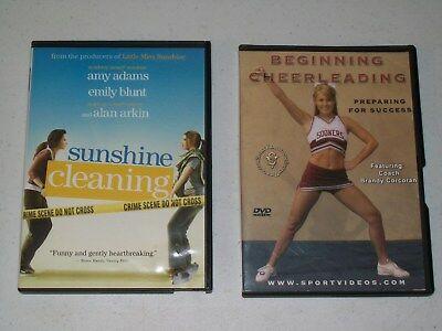 SUNSHINE CLEANING & BEGINNING CHEERLEADING DVDs
