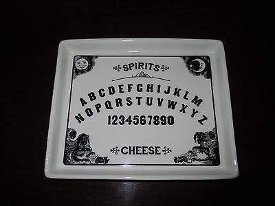 NWT OUIJA Cheese Plate for Snacks, Appetizers, Halloween!](Appetisers For Halloween)