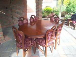 Solid Wood 6 Seater Extendable Dining Table Eden Hills Mitcham Area Preview