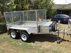 8x4 dual axle galvanised trailer Parkwood Gold Coast City Preview