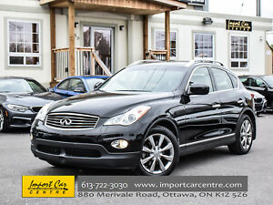 2012 Infiniti EX35 JOURNEY AWD LEATHER ROOF H.SEATS WOW!!