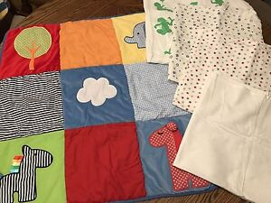 Tummy time mat and reviving blankets