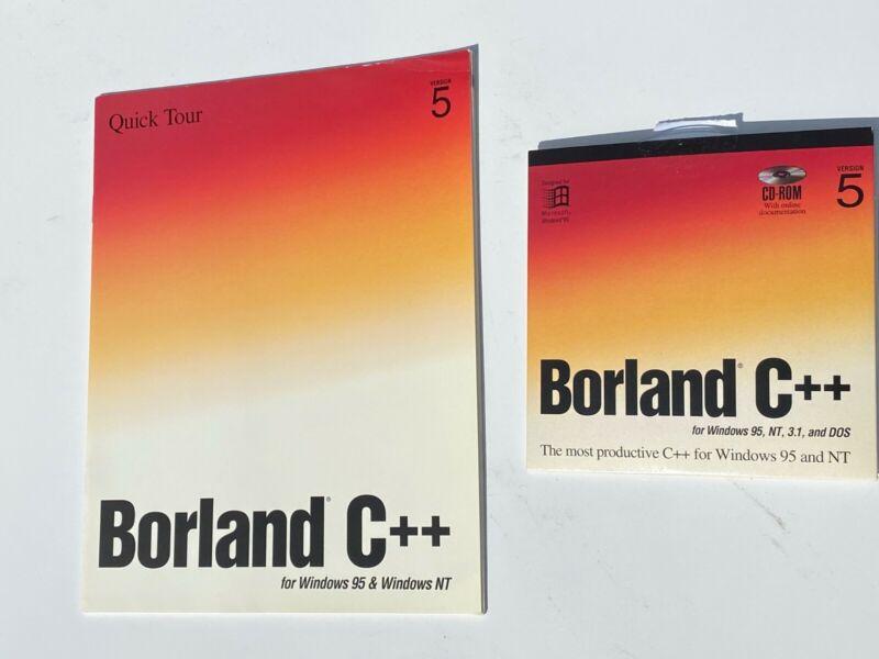 Vintage Borland C++ version 5 Development Package